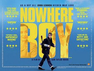 Nowhere Boy - British release poster