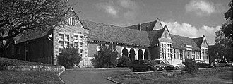 West Perth, Western Australia - Hale School in West Perth is now The Constitunal Centre
