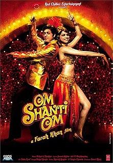 <i>Om Shanti Om</i> 2007 film directed by Farah Khan