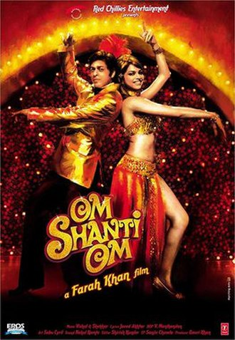 Om Shanti Om - Theatrical release poster