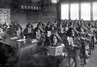 Gilman School - An open-air classroom at Gilman, in use from 1911 to 1922