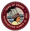 Oficiální pečeť města Orono