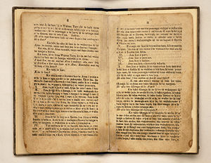 William Yate - Image: Page ii and iii of Ko te Katihama III, printed by William Yate,1830