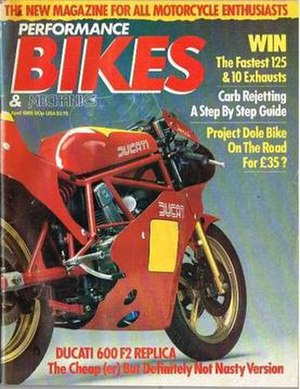 Performance Bikes (magazine) - The first issue, April 1985