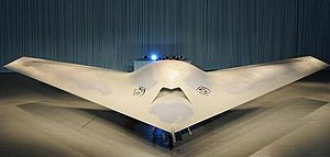 Boeing Phantom Ray - The Phantom Ray during its unveiling in St. Louis, Missouri, in May 2010.