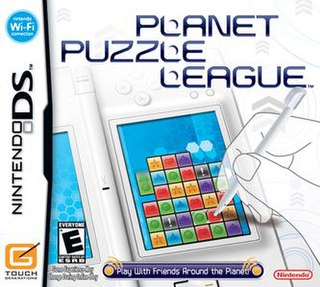 <i>Planet Puzzle League</i> 2007 video game