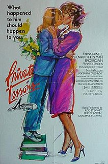 <i>Private Lessons</i> (1981 film) 1981 film directed by Alan Myerson