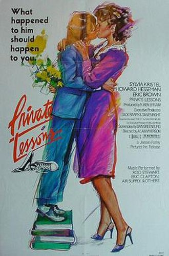 Private Lessons (1981 film) - Private Lessons theatrical poster