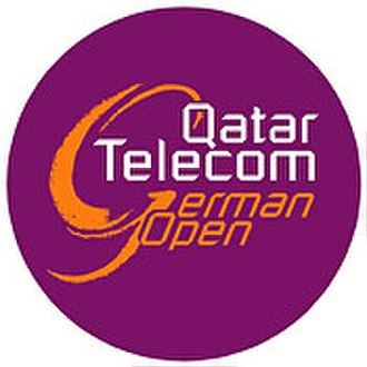 German Open (WTA) - Image: Qatar Telecom German Open logo