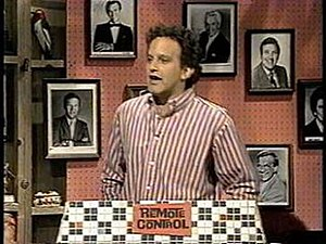 MTV - Ken Ober, host of the early MTV game show Remote Control