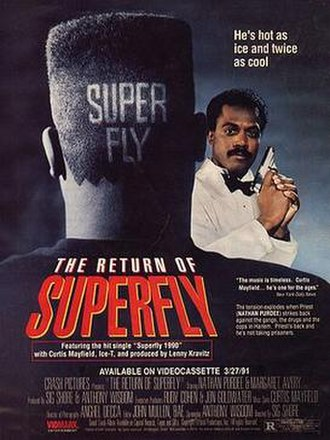 The Return of Superfly - Theatrical release poster
