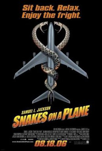 Snakes on a Plane - Theatrical release poster
