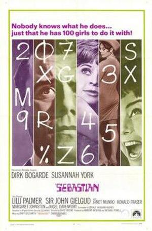 Sebastian (1968 film) - Image: Sebastian Film Poster