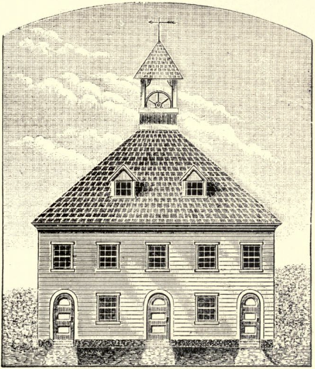 Second meeting house, new haven, ct