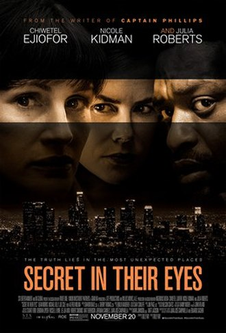 Secret in Their Eyes - Theatrical release poster