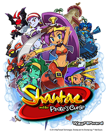 VIDEO GAME: Shantae and the Pirate's Curse (2014)