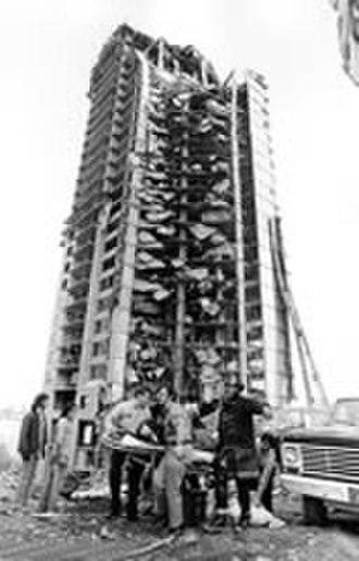 Skyline Towers collapse - Image: Skylinep