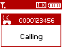 The caller ID information is masked when a SkypeOut call is placed.