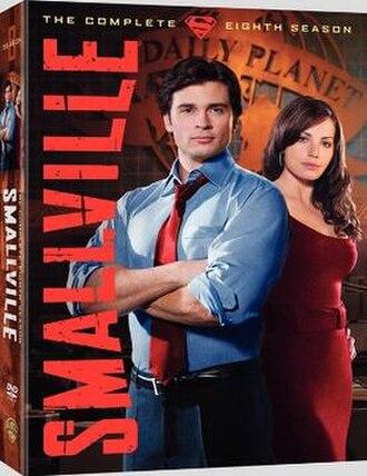 Smallville (season 8) - DVD and Blu-ray cover