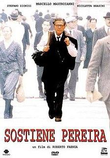 <i>Sostiene Pereira</i> 1995 Italian drama film directed by Roberto Faenza