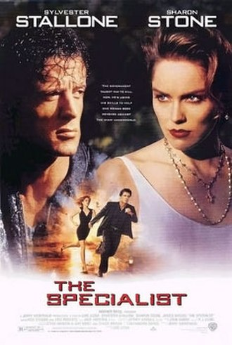 The Specialist - Promotional film poster