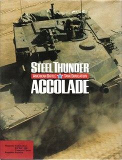 <i>Steel Thunder</i> 1988 video game