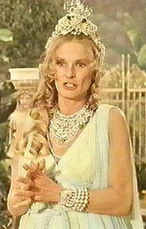 Hippolyta (DC Comics) - Cloris Leachman as Queen Hippolyta on the Wonder Woman series.