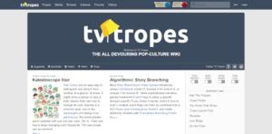 TV Tropes Screenshot.png