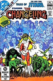 Image result for changeling teen titans