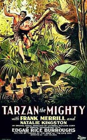 Tarzan the Mighty - Theatrical poster to Tarzan the Mighty (1928)
