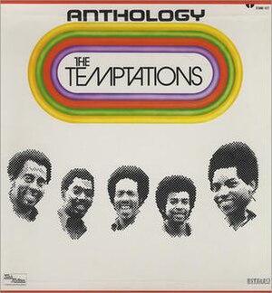 Anthology (The Temptations album) - Image: Temptations anthology 1973