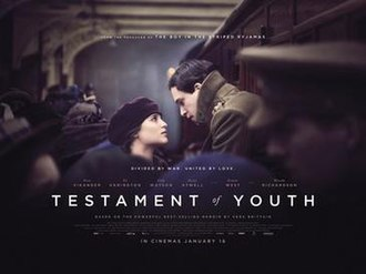 Testament of Youth (film) - UK theatrical release poster