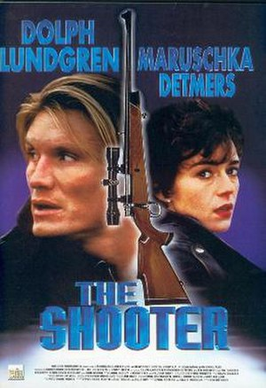 The Shooter (1995 film) - Theatrical release poster