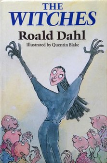 <i>The Witches</i> (novel) 1983 childrens book by Roald Dahl