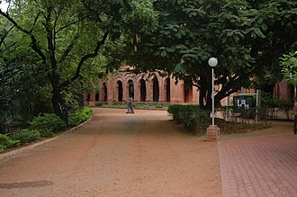 American College, Madurai - Image: The American College mainhall