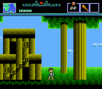 The Battle of Olympus - Screenshot of the game