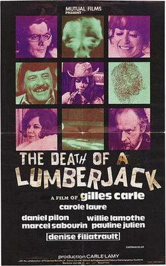 The Death of a Lumberjack - Film poster