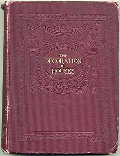 <i>The Decoration of Houses</i> manual of interior design by Edith Wharton