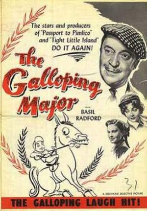 The Galloping Major (film) - Image: The Galloping Major Film Poster