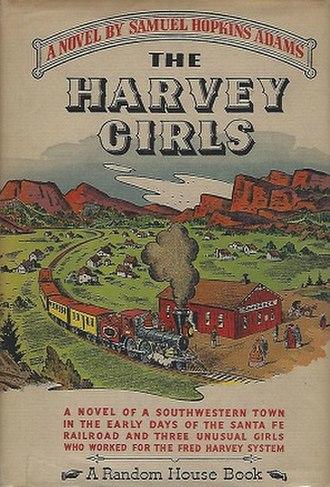 The Harvey Girls (novel) - Image: The Harvey Girls novel