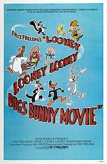 <i>The Looney Looney Looney Bugs Bunny Movie</i> 1981 animated feature film directed by Friz Freleng