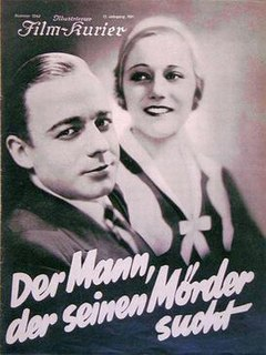 <i>The Man in Search of His Murderer</i> 1931 film