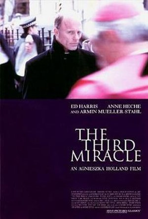 The Third Miracle - Theatrical release poster