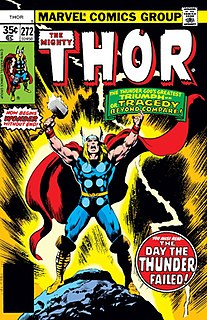 Thor (Marvel Comics) Marvel comic book character