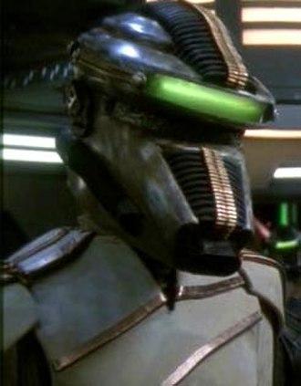Breen (Star Trek) - Thot Gor, a Breen official from an episode of Star Trek: Deep Space Nine.