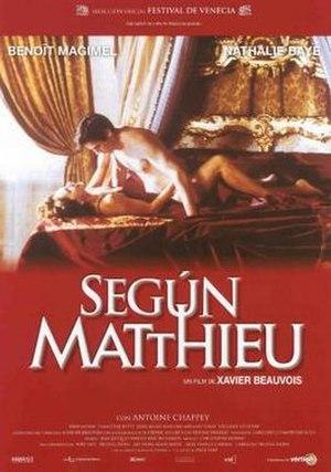 To Matthieu - Film poster