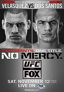 UFC on Fox: Velasquez vs. dos Santos UFC mixed martial arts event in 2011