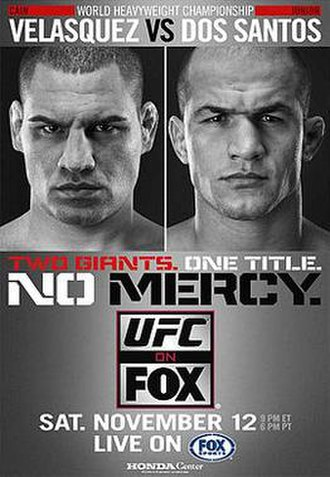 UFC on Fox: Velasquez vs. dos Santos - Image: UFC on Fox Velasquez vs. Dos Santos