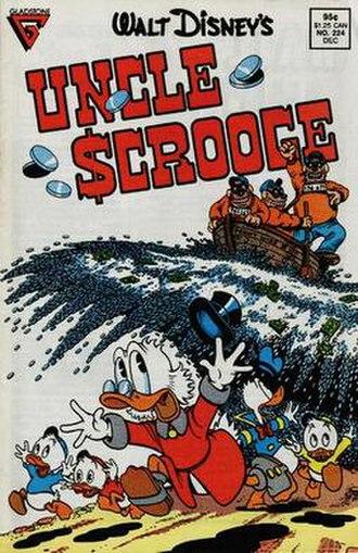 Cash Flow (comics) - Image: Uncle Scrooge 224 Cash Flow