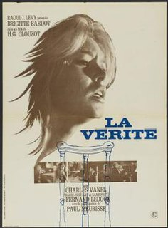 <i>La Vérité</i> (film) 1960 French film by Henri-Georges Clouzot
